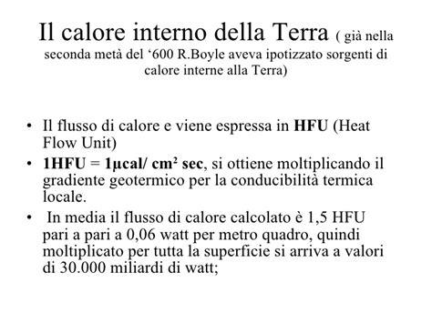 calore interno della terra 5 c 2009 interno della terra