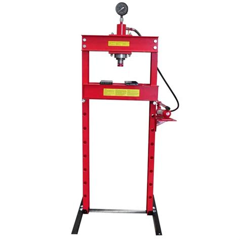 1 Ton Hydraulic Floor Press by Vidaxl Co Uk 20 Ton Air Hydraulic Floor Shop Press H Type