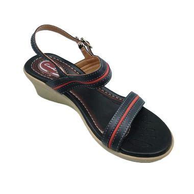 Sandal Casual Wanita Carvil Sonora 02l 1 jual carvil casual venus sandal wanita 02l black harga kualitas terjamin blibli