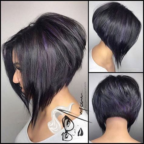 best aline bob haircuts front and back views 12504 best images about back view assym bobs on pinterest