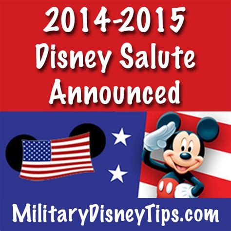 Disney Mba Salary by Disney S Armed Forces Salute Has Been Renewed For 2014 2015