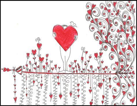 doodle hearts flowers of doodle doodler
