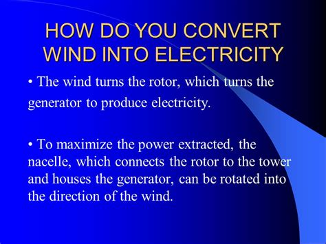 wind power by saed ghaffari how do you convert wind into