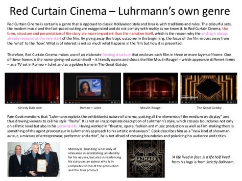 section 189 lra baz luhrmann red curtain 28 images strictly ballroom