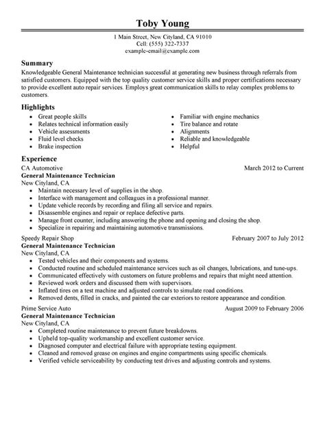 17 outstanding description of a diesel mechanic resume