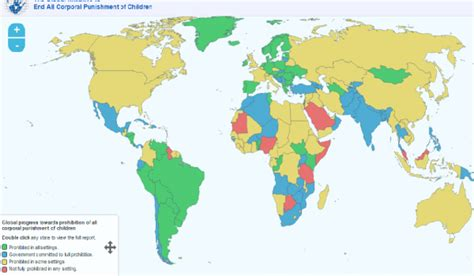 corporal punishment around the world paraguay the 50 th state to ban corporal punishment of