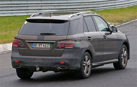 first mercedes spyshots 2016 mercedes ml gle plug in hybrid first