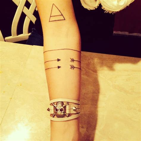 tattoo geometric band minimal geometric tattoo b w arm hipster tattoos