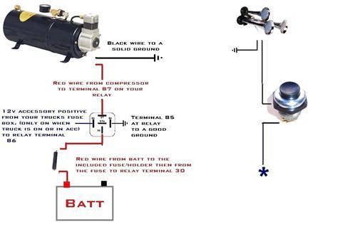 electric horn wiring diagram diagram horn wiring diagram