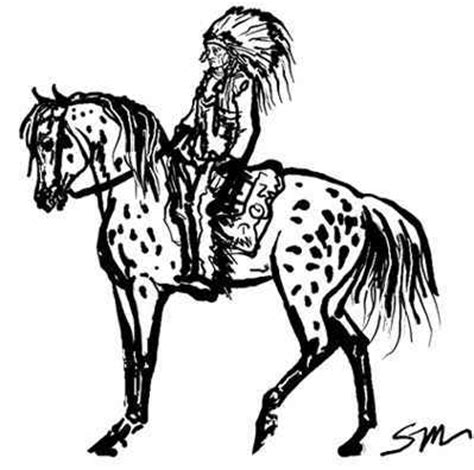 coloring pages of appaloosa horses appaloosa horse coloring pages
