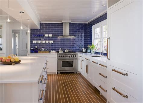 cobalt blue backsplash kitchen contemporary with subway cobalt blue kitchen backsplash gray yellow navy
