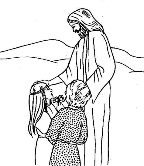Free Bible Coloring Page Jesus Bible Coloring Pages Free