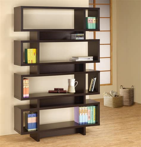 Ark Rak Open Drawers Black oak cube sustainable book shelves design with vintage
