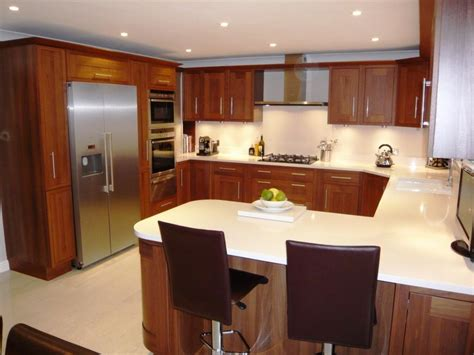 kitchen design with breakfast bar small u shaped kitchen design ideas kool kitchens
