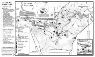 Jay Cooke State Park Map by Jay Cooke State Park Summer Map 780 Highway 210 Carlton