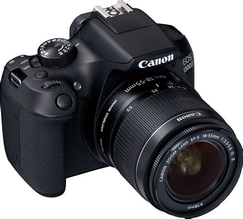 Kamera Canon Eos 1300d canon eos 1300d ef s 18 55 mm is ii ef s 55 250 mm f4 5 6 is ii dslr black