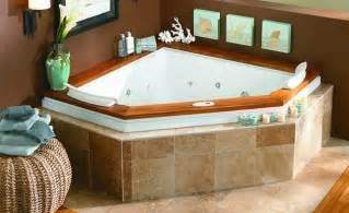 Corner Bathtubs With Jets Luxury Collection Whirlpool Tubs Fuzion Corner