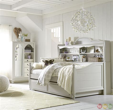 inspirations cottage morning mist bookcase daybed