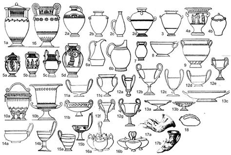 Ancient Vase Shapes by Original File 1 409 215 948 Pixels File Size 655 Kb