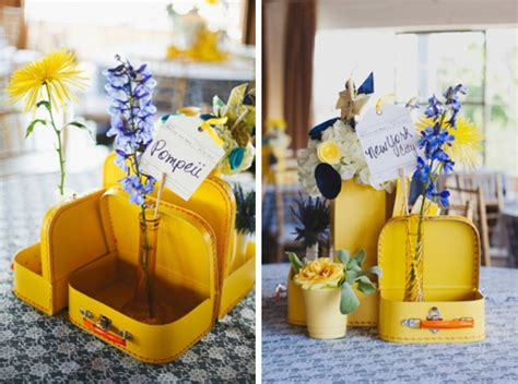 travel themed wedding decorations travel themed wedding ideas