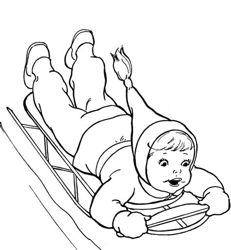 snow coloring pages preschool free coloring pages of winter theme