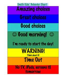 color behavior chart 1000 ideas about behavior charts for home on