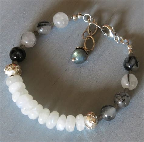 Handmade Beaded Jewelry Websites - handmade moonstone bracelet handmade jewelry