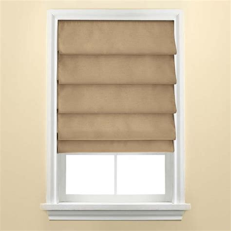 No Sew Roman Shades Cozy Crooked Cottage