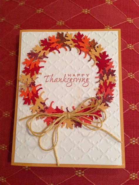 thanksgiving card thanksgiving cards scrapbooking