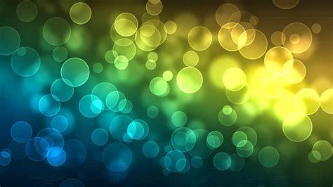 imagenes verdes con azul fondo de pantalla abstracto burbujas amarillas verdes y