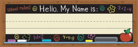 Fantastic Desk Name Plates Desk Name Tags Student Name Student Desk Plates