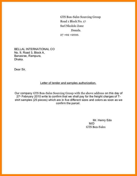 authorization letter format to receive package sle authorization letters sle