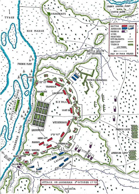 savannah 1779 the british siege of savannah american revolutionary war