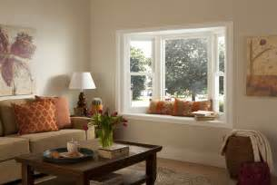 Window Treatments For Bay Windows In Dining Rooms bay window with seating simonton windows amp doors
