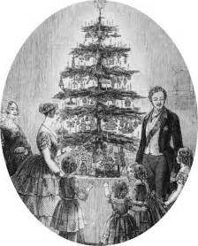regency history did they have christmas trees in the regency