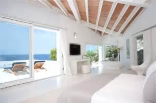 Beach Theme Bedroom luxury white interiors ice white design designer uncovered