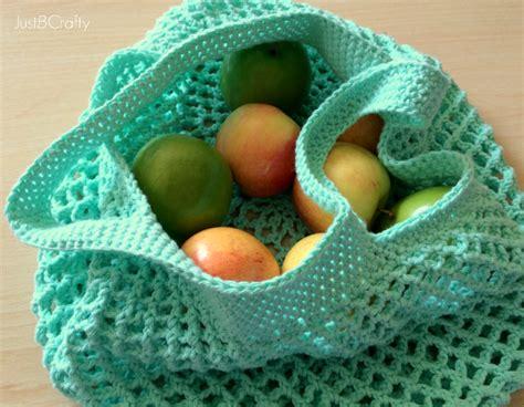 crochet pattern grocery bag crochet mesh grocery tote pattern