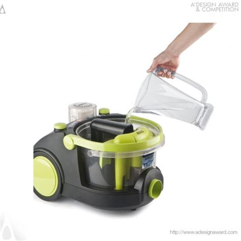 arnica bora is a vacuum cleaner with water filter inside