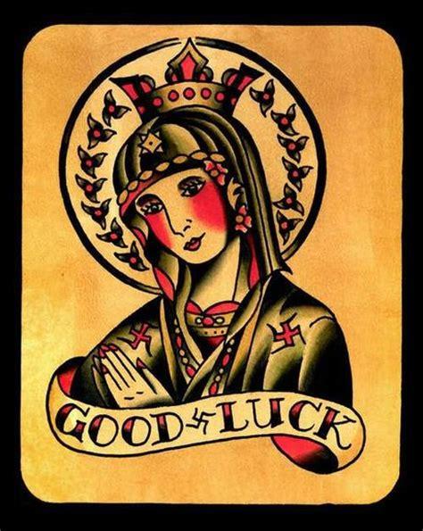 good luck tattoo luck tattoos paperblog