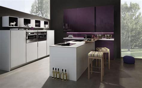 purple kitchen decor with purple backsplash lighting