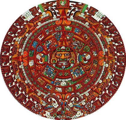 El Calendario Y El Azteca Iguales Historia Arte Calendario Azteca