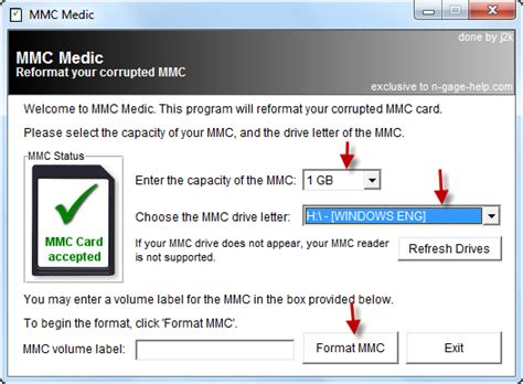 best free software to format sd card to exfat on windows rapid sd memory card with mmc medic utility flash drive