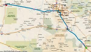 quartzsite arizona map rv travel living the chuck and lou living