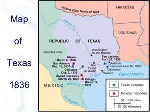 the alamo map as a state the battle of the alamo