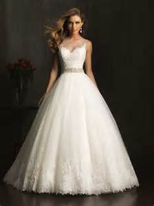 elegant look with lace ball gown wedding dresses cherry