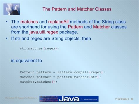 java occurrence of a pattern java căn bản chapter9