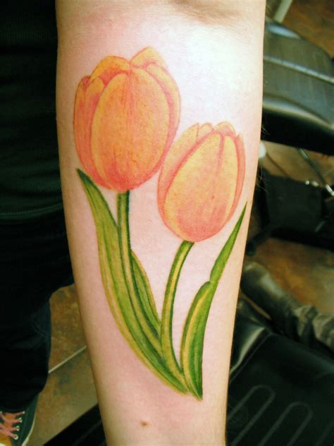 tattoo flower tulip part 2 of my next tattoo tulips tattoos