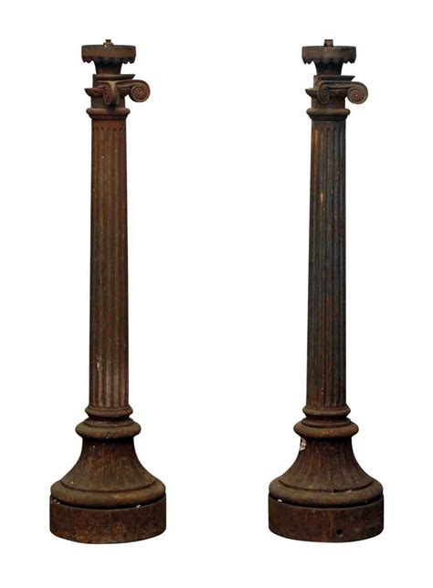 Cast Iron Lighting by Cast Iron Column Light Posts Olde Things