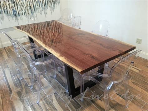 Live edge dining table live edge dining table 60 in live edge dining tables with trestle base