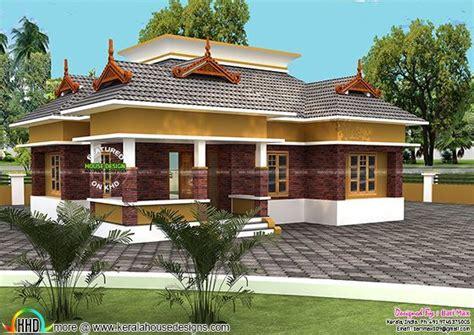 single floor 18 lakh home design kerala home design